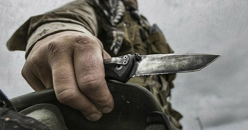 Combat Knife - USMC Ka-Bar